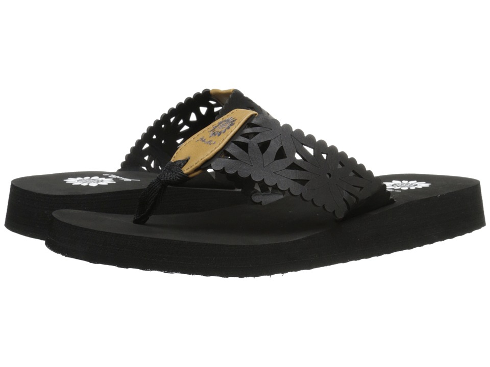 Yellow Box - Wiley (Black) Women's Sandals