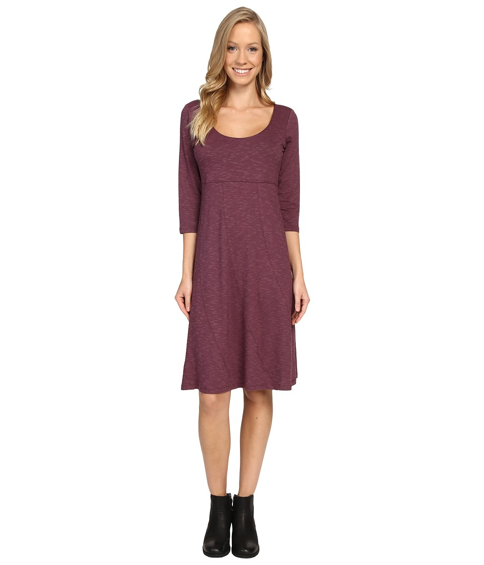 Toad&Co - Nena 3/4 Dress (Vino) Women's Dress