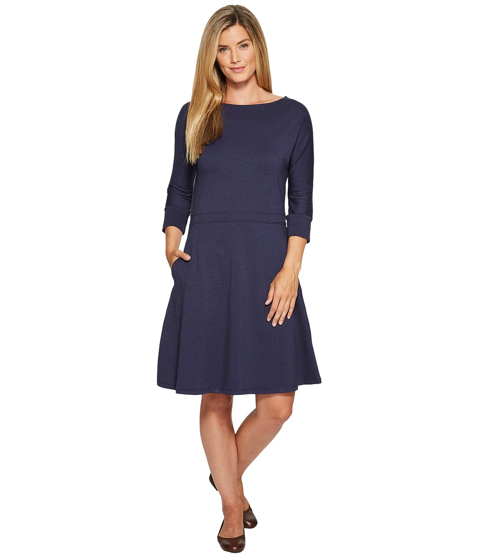 Toad&Co Mizdress Knit Dress (Deep Navy) Women