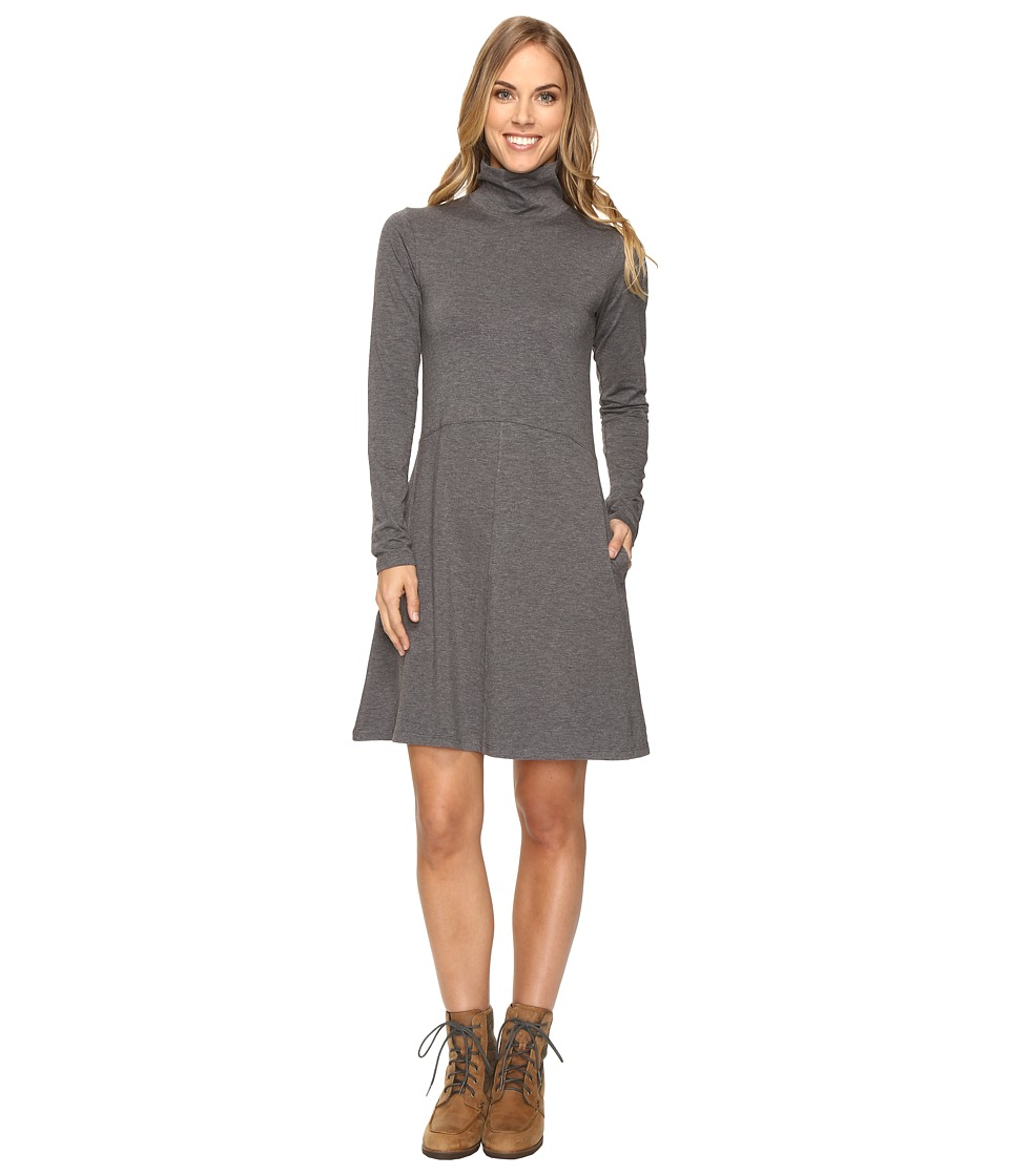 Toad&Co - Winterdance Dress (Charcoal Heather) Women's Dress