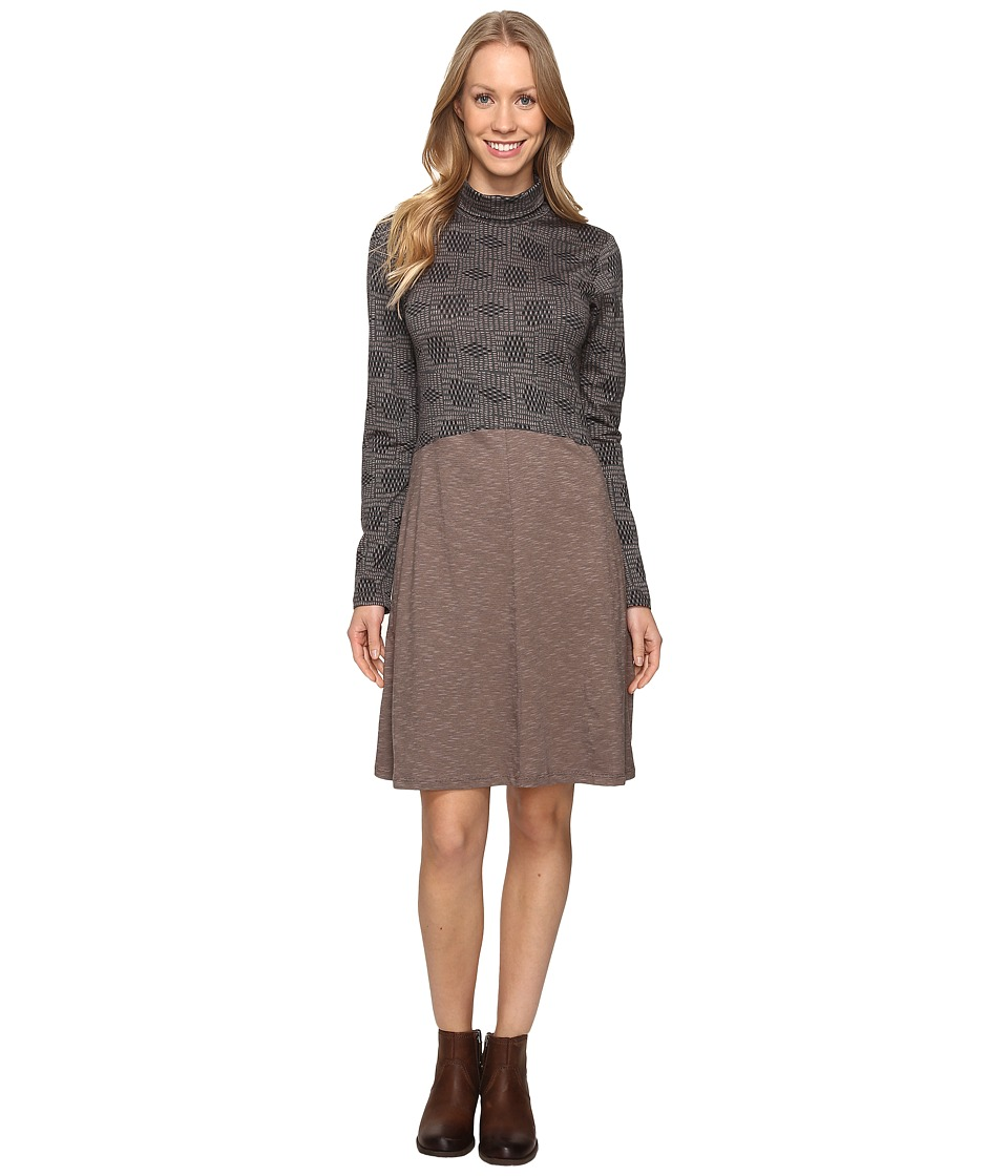 Toad&Co - Winterdance Dress (Falcon Brown) Women's Dress