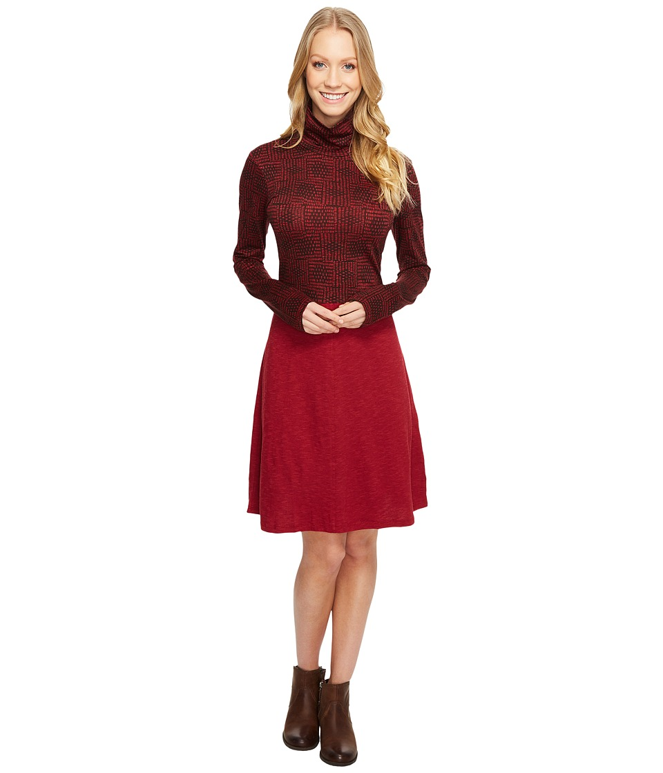 Toad&Co - Winterdance Dress (House Red) Women's Dress