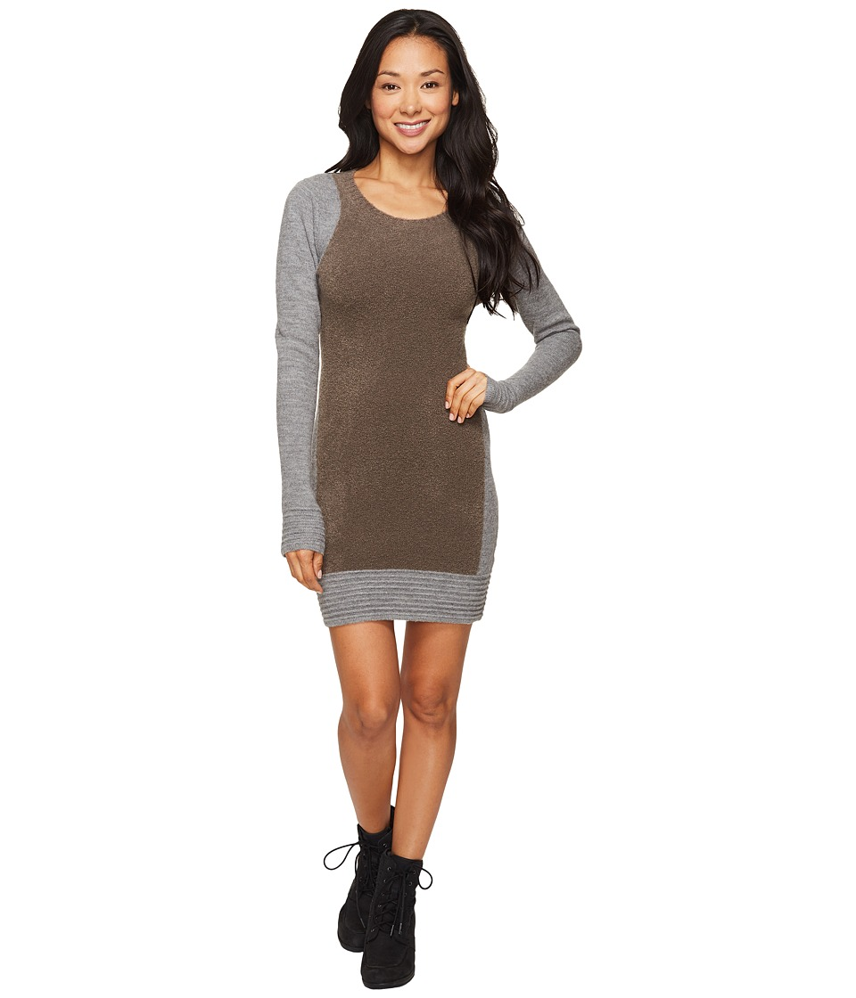 Toad&Co Kaya Sweater Dress (Heather Gray) Women