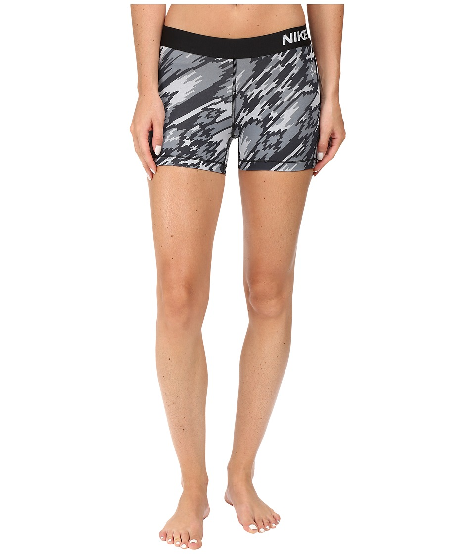 Nike - Pro Cool Overdrive Training Short (Black/White) Women's Shorts
