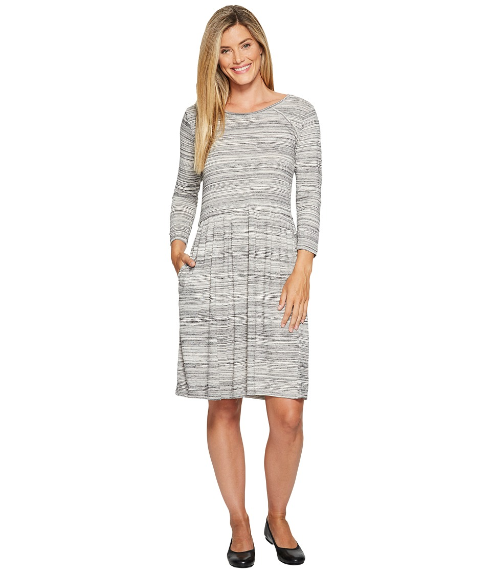 Toad&Co Imogene 3/4 Dress (Egret) Women