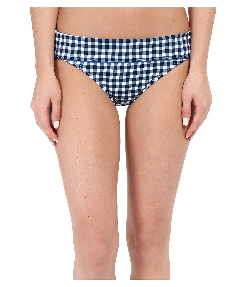 Tommy Bahama Gingham Wide Band Hipster (Mare Navy) Women
