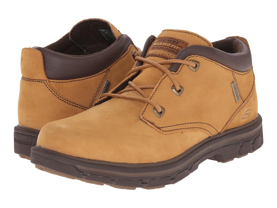 SKECHERS - Relaxed Fit Segment - Verzani (Wheat Leather) Men