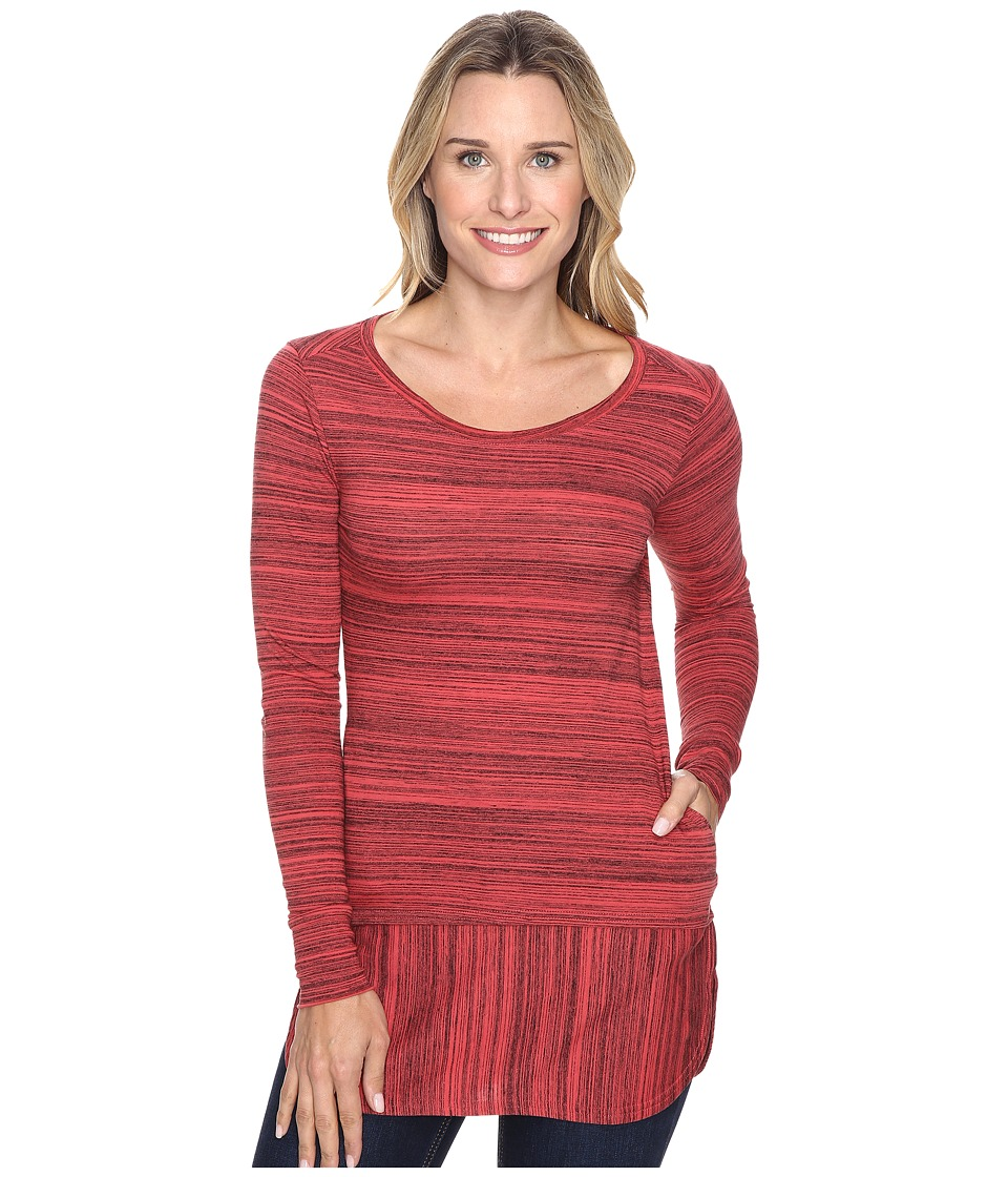 Toad&Co - Imogene Tunic (Currant Red) Women's Blouse