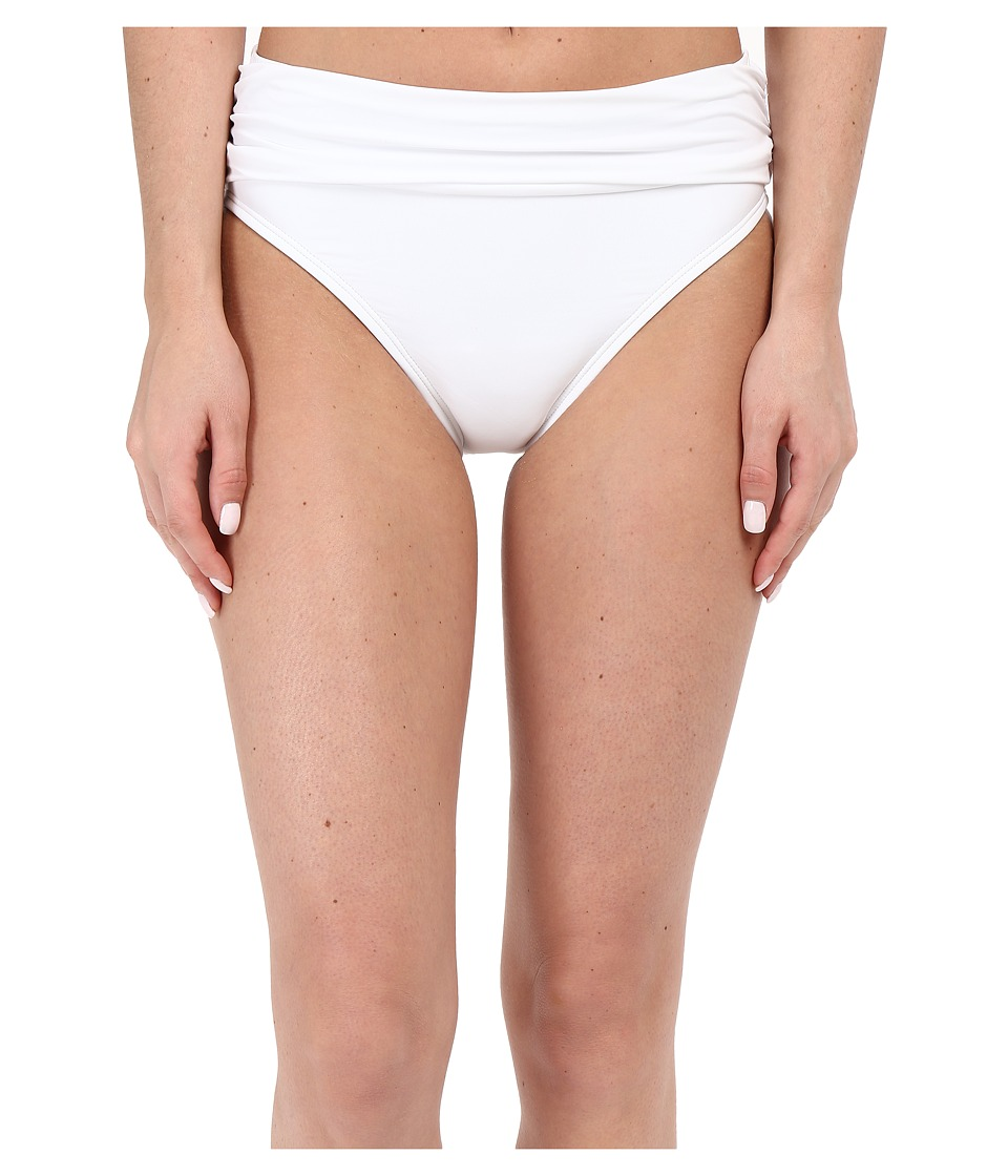 Tommy Bahama - Pearl High Waist Sash Pants (White) Women's Swimwear