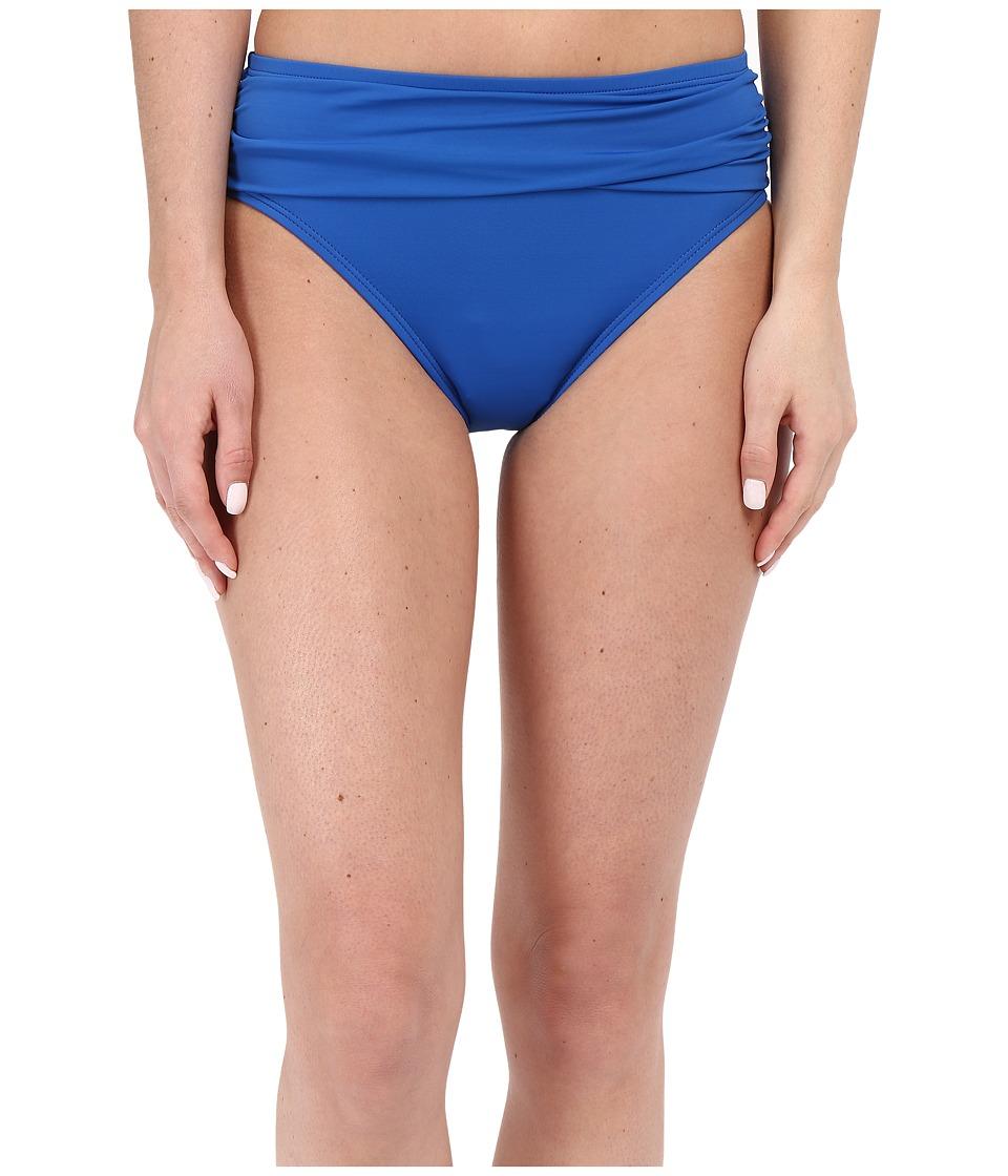 Tommy Bahama - Pearl High Waist Sash Pants (Royal Blue) Women's Swimwear