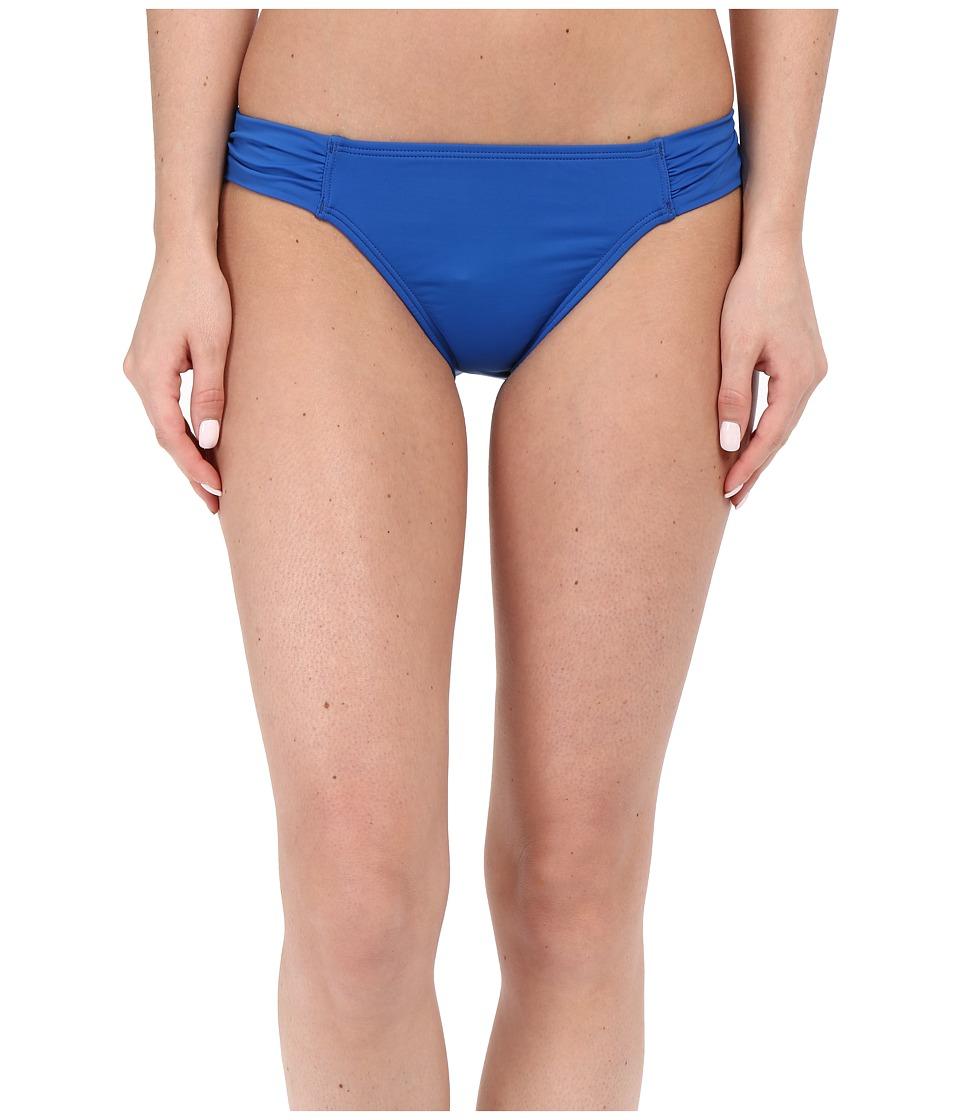 Tommy Bahama - Pearl Side Shirred Hipster (Royal Blue) Women's Swimwear