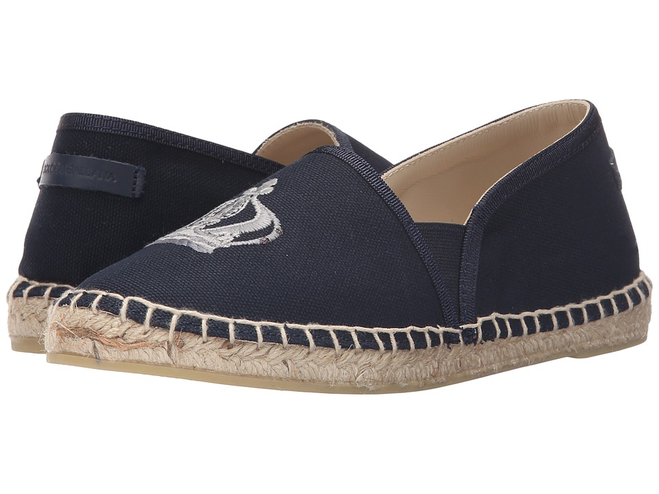 Dolce & Gabbana Kids - Crown Espadrille (Little Kid/Big Kid) (Blue) Boys Shoes
