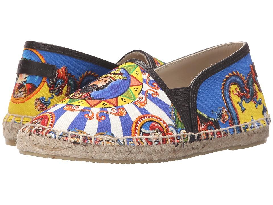 Dolce & Gabbana Kids - Pinwheel Espadrille (Little Kid/Big Kid) (Print) Boys Shoes
