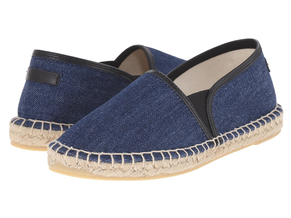 Dolce & Gabbana Kids - Denim Espadrille (Big Kid) (Denim) Boys Shoes