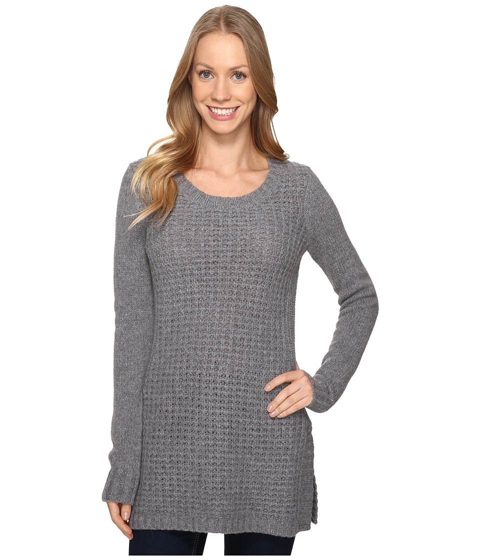 Toad&Co - Kinley Sweater Tunic (Smoke Heather) Women's Blouse