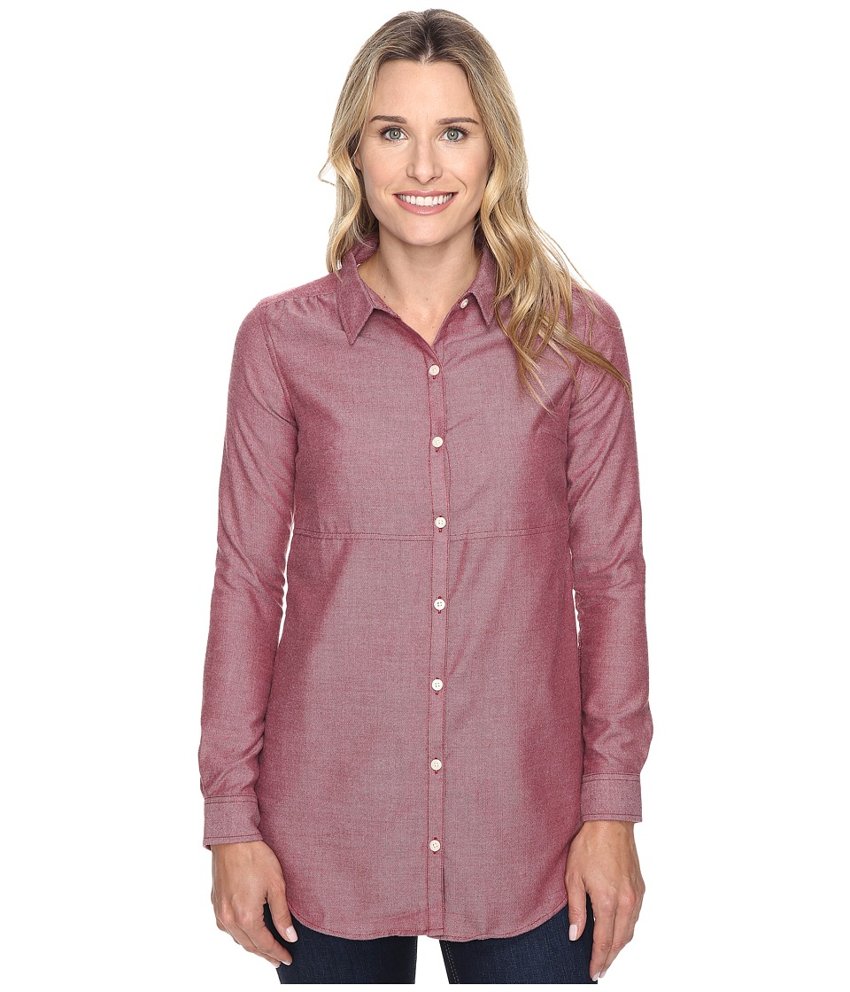 Toad&Co - Dakotah Travel Tunic (House Red) Women's Blouse