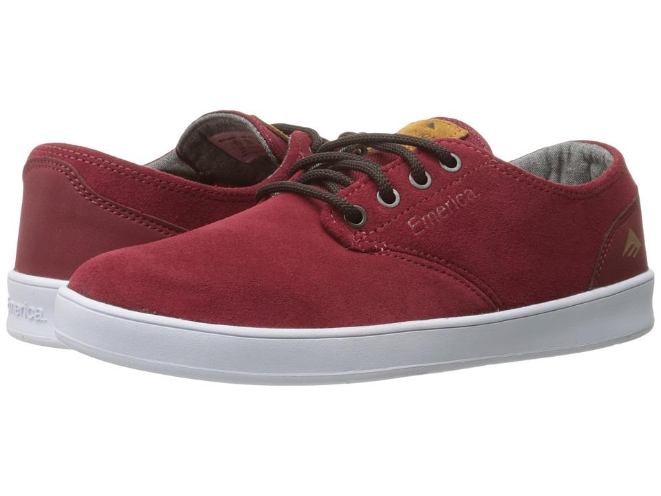Emerica - The Romero Laced (Burgundy) Men's Skate Shoes
