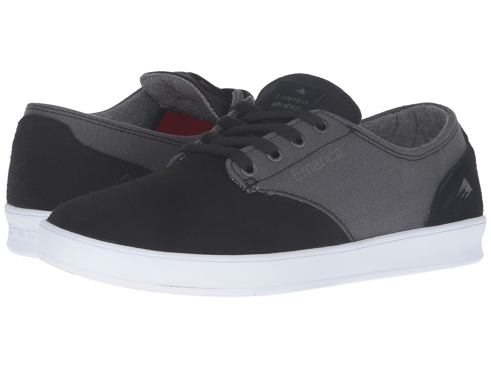 Emerica - The Romero Laced (Black/Grey) Men's Skate Shoes