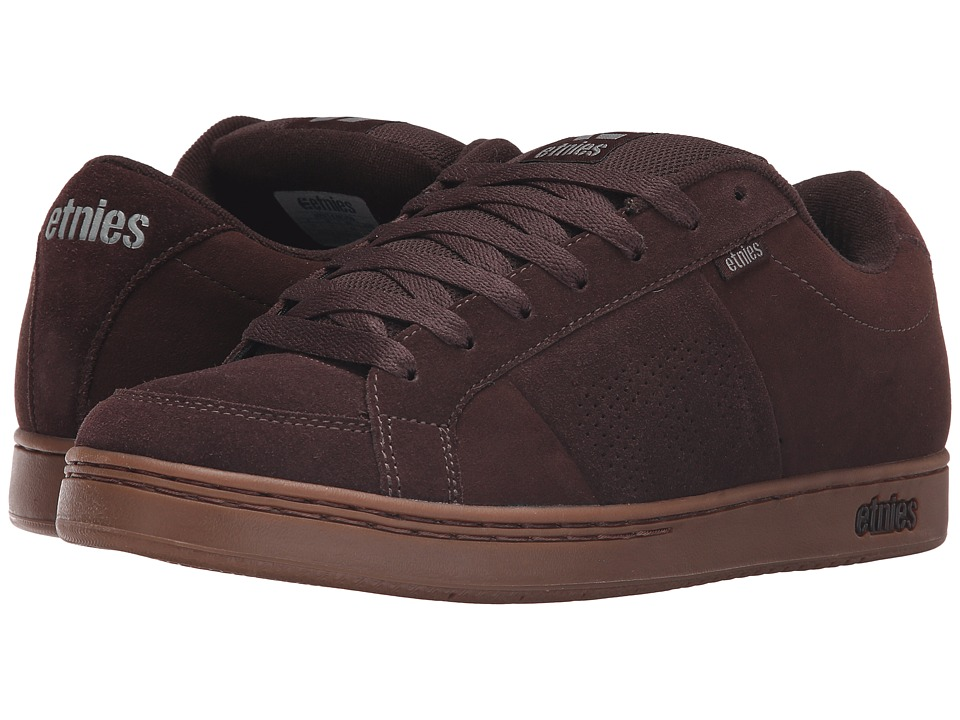 etnies - Kingpin (Dark Brown) Men's Skate Shoes