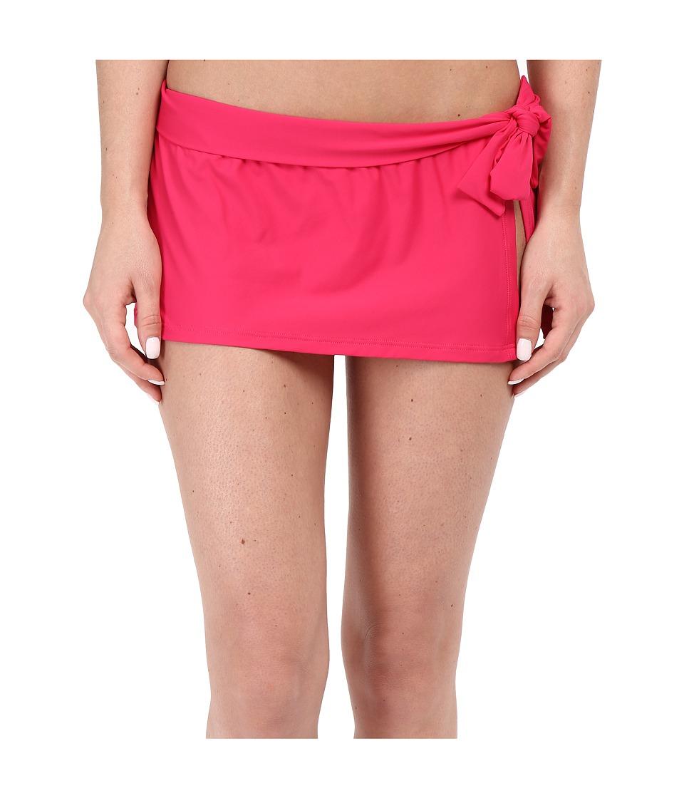 Tommy Bahama - Pearl Skirted Hipster Bikini Bottom (Azalea Pink) Women's Swimwear