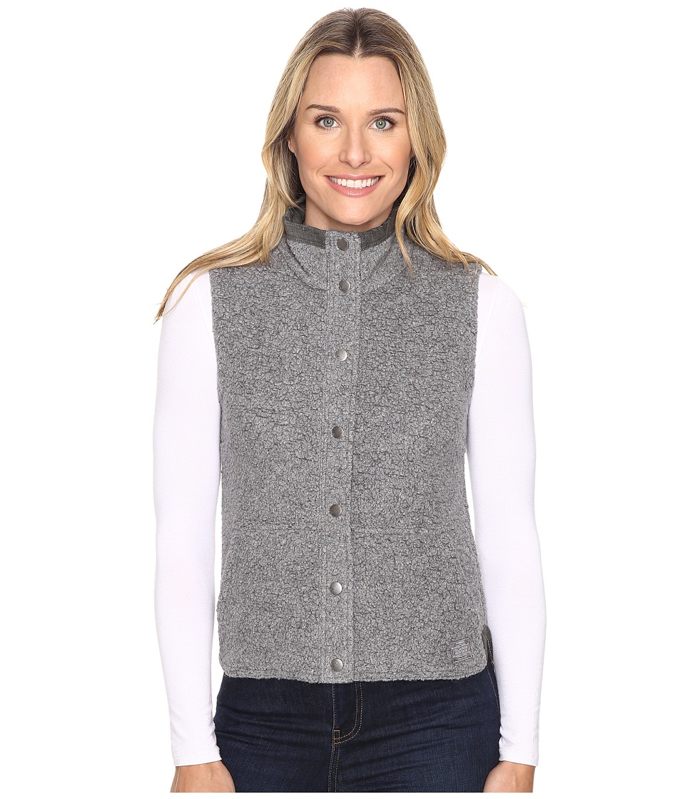 Toad&Co - Sheridan Sherpa Vest (Grey Heather) Women's Vest