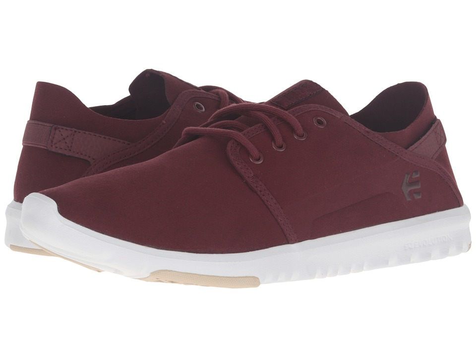 etnies - Scout (Oxblood) Men's Skate Shoes