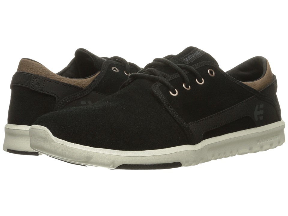 etnies - Scout (Black/Brown) Men's Skate Shoes