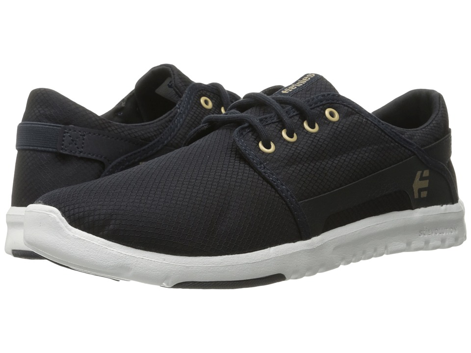 etnies - Scout (Navy/White) Men's Skate Shoes
