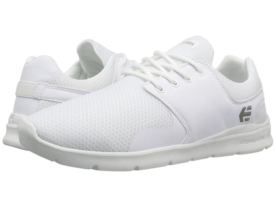 etnies - Scout XT (White) Men's Skate Shoes
