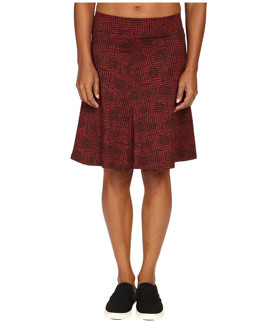 Toad&Co Bossanova Skirt (Buffalo Basket Print) Women