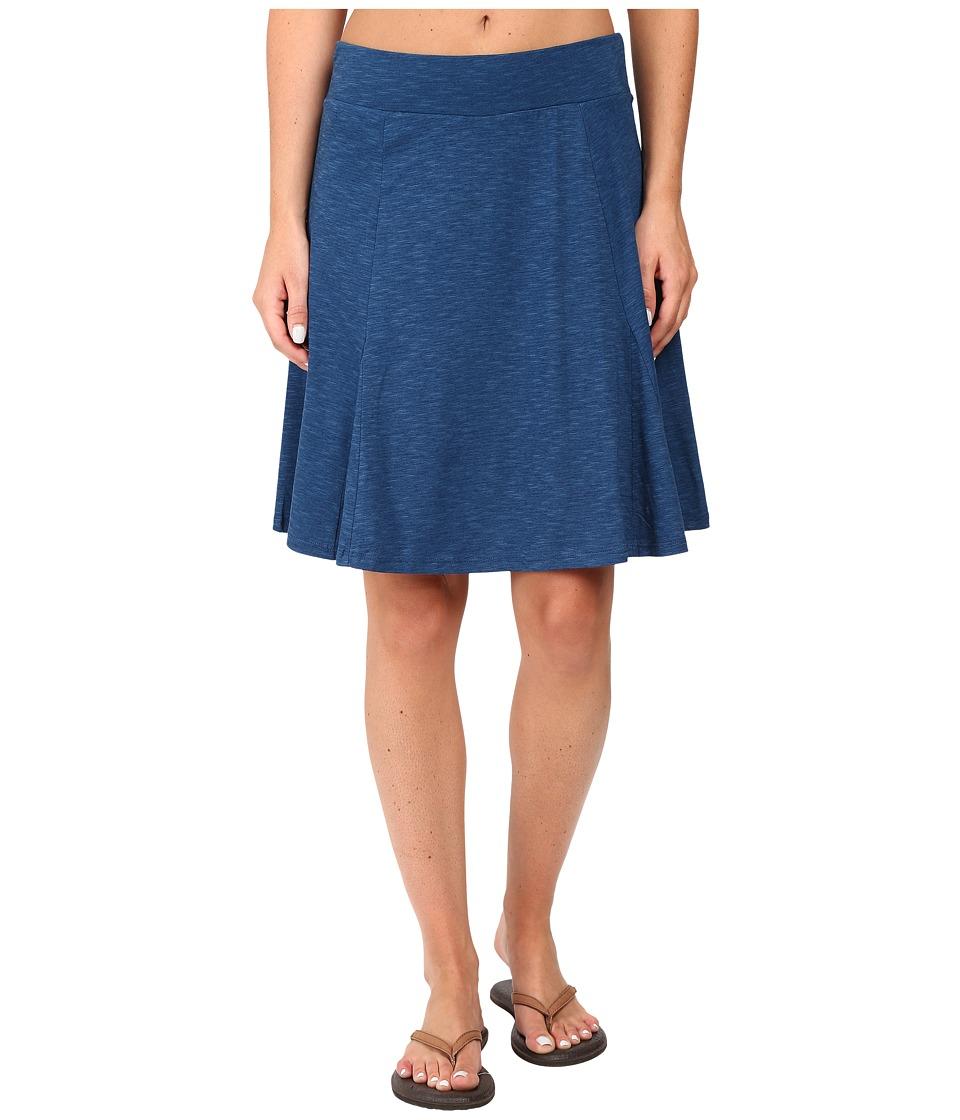 Toad&Co - Bossanova Skirt (Blue Abyss) Women's Skirt