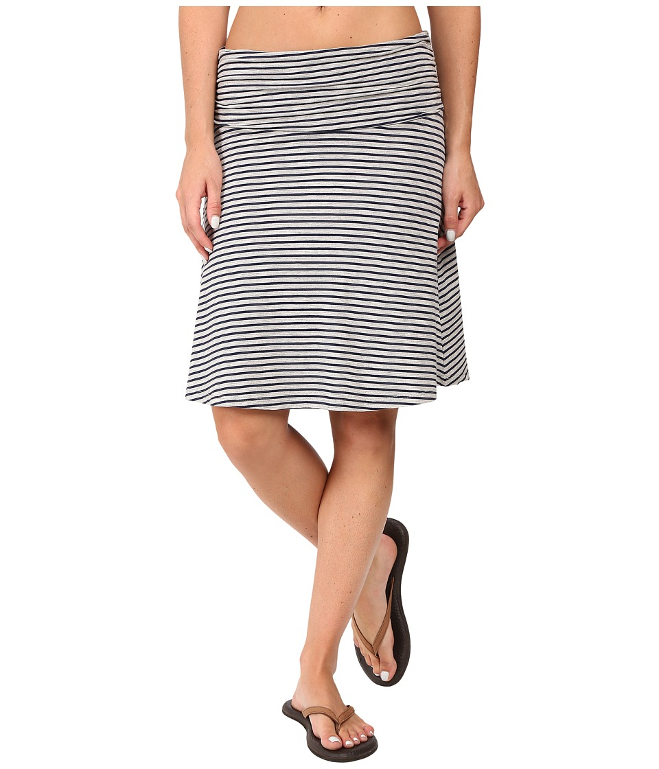 Toad&Co - Chaka Skirt (Deep Navy Stripe) Women's Skirt