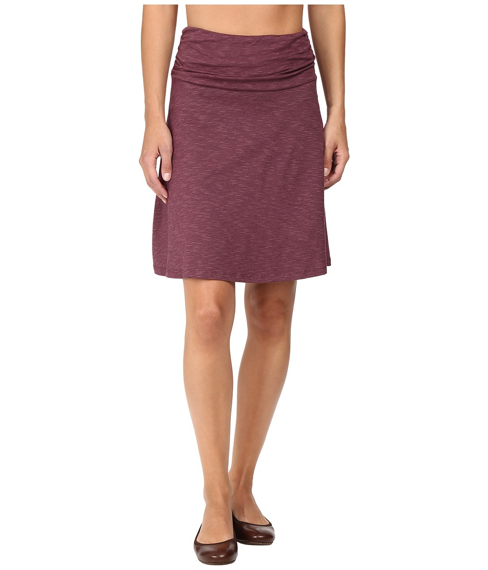 Toad&Co - Chaka Skirt (Vino) Women's Skirt