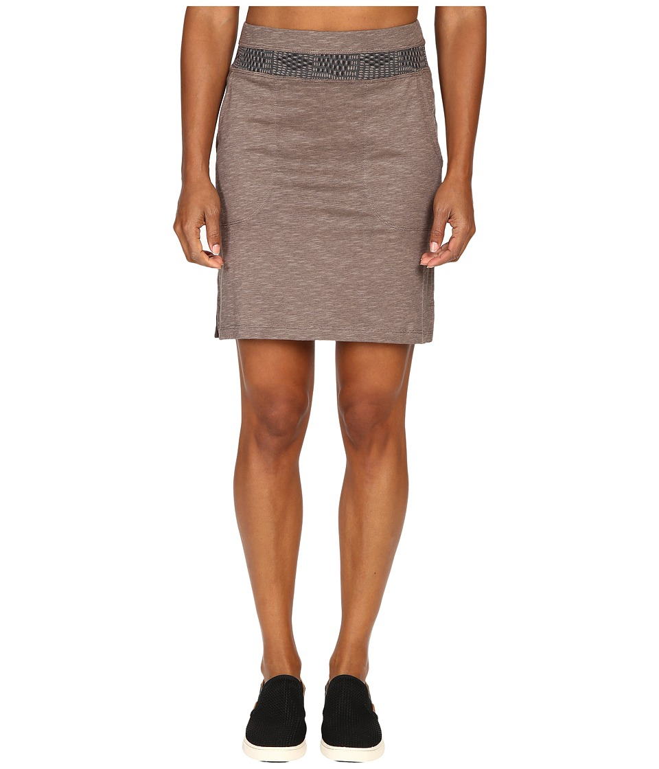 Toad&Co - Sambossa Skirt (Falcon Brown) Women's Skirt