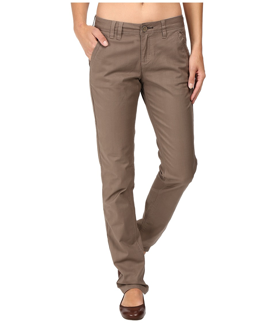 Toad&Co - Checkpoint Pants (Falcon Brown) Women's Casual Pants