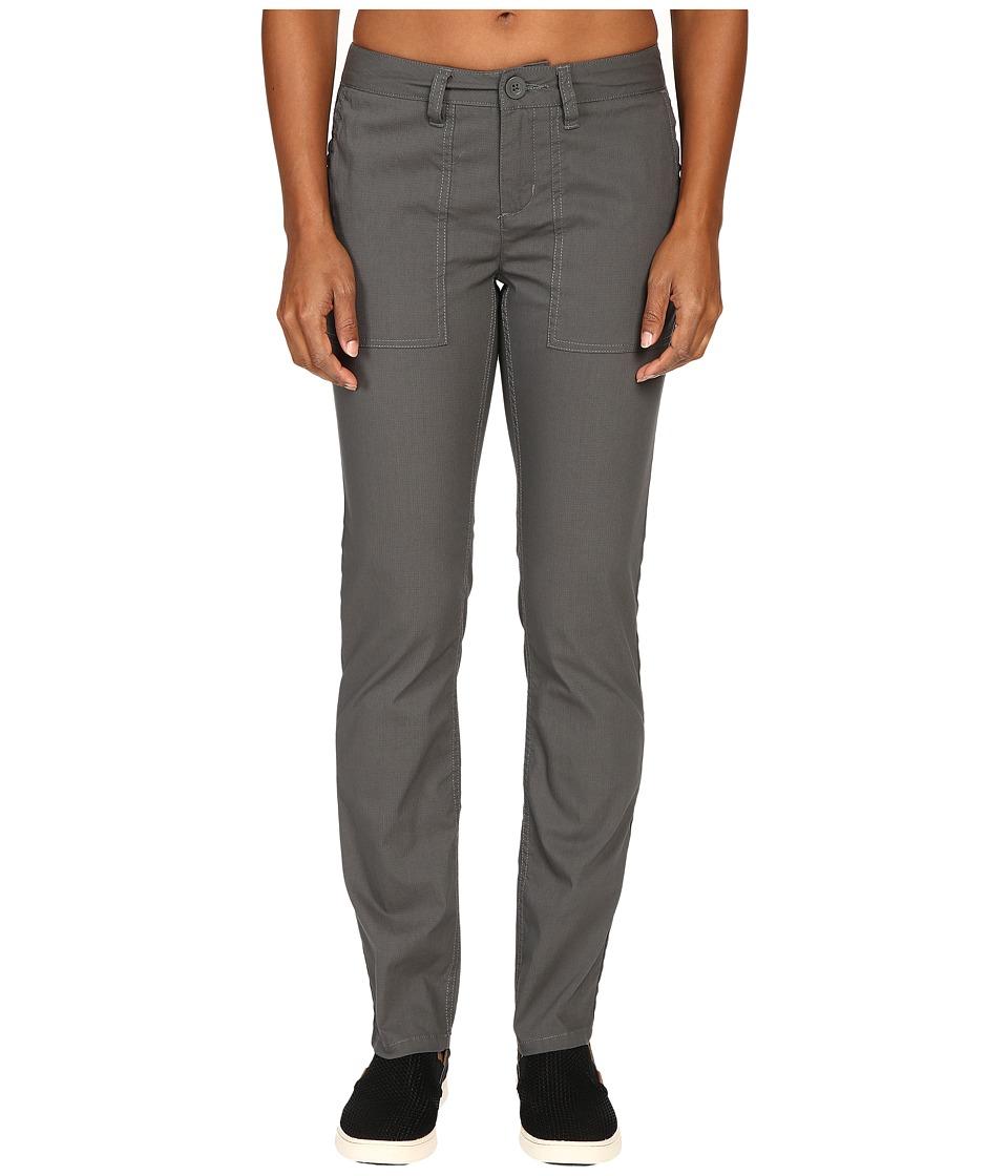 Toad&Co - Bristlecone Straight Legging (Dark Graphite) Women's Casual Pants