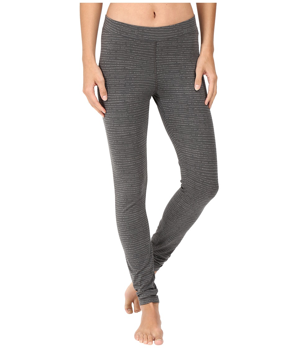 Toad&Co - Printed Lean Leggings (Dark Graphite Stripe Print) Women's Casual Pants
