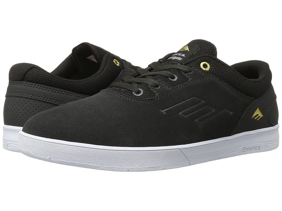 Emerica - The Westgate CC (Dark Grey/White) Men's Skate Shoes