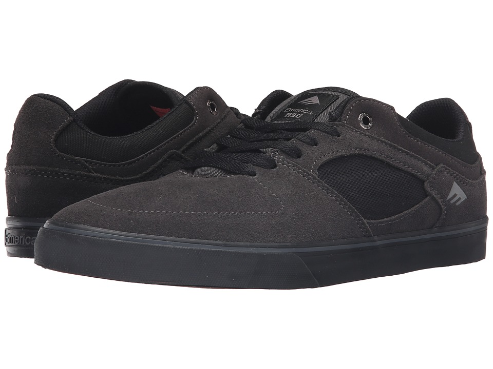 Emerica - The Hsu Low Vulc (Dark Grey/Black) Men's Shoes