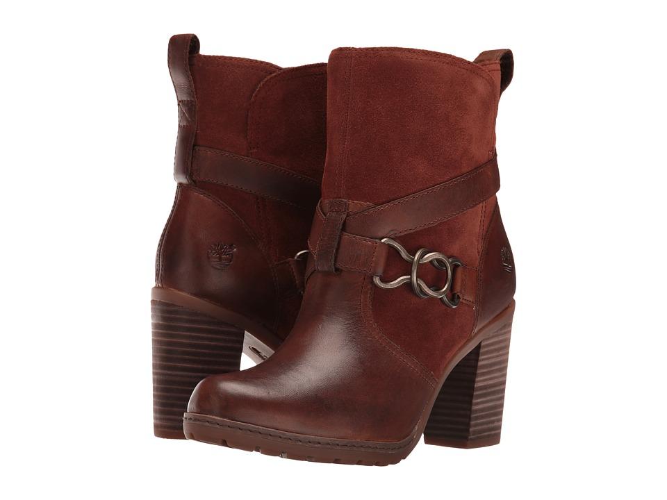 Timberland - Dennett Buckle Ankle Boot (Medium Brown Full Grain) Women's Boots