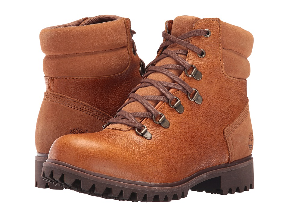 Timberland Wheelwright Waterproof Hiker (Burnt Orange Full Grain) Women