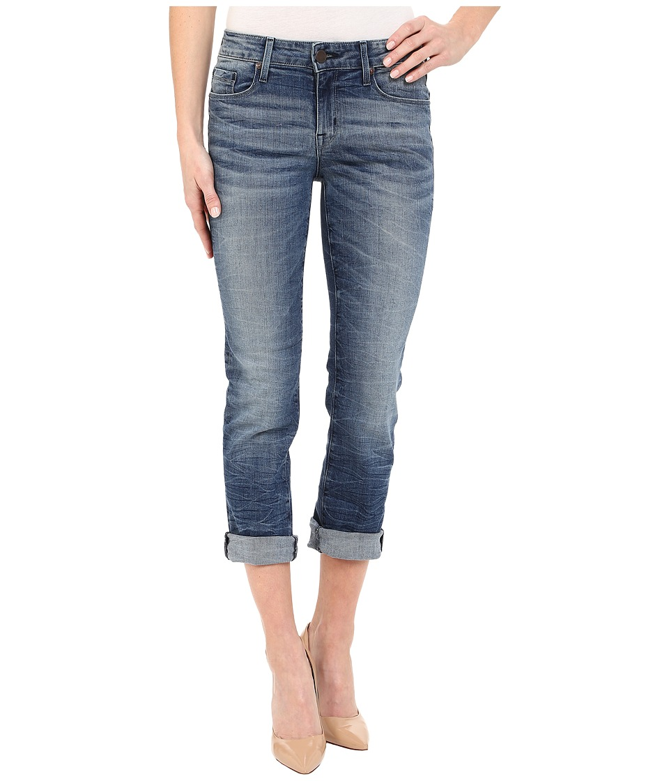 Parker Smith - Courtney Cuffed Crop Jeans in Indigo Storm (Indigo Storm) Women's Jeans