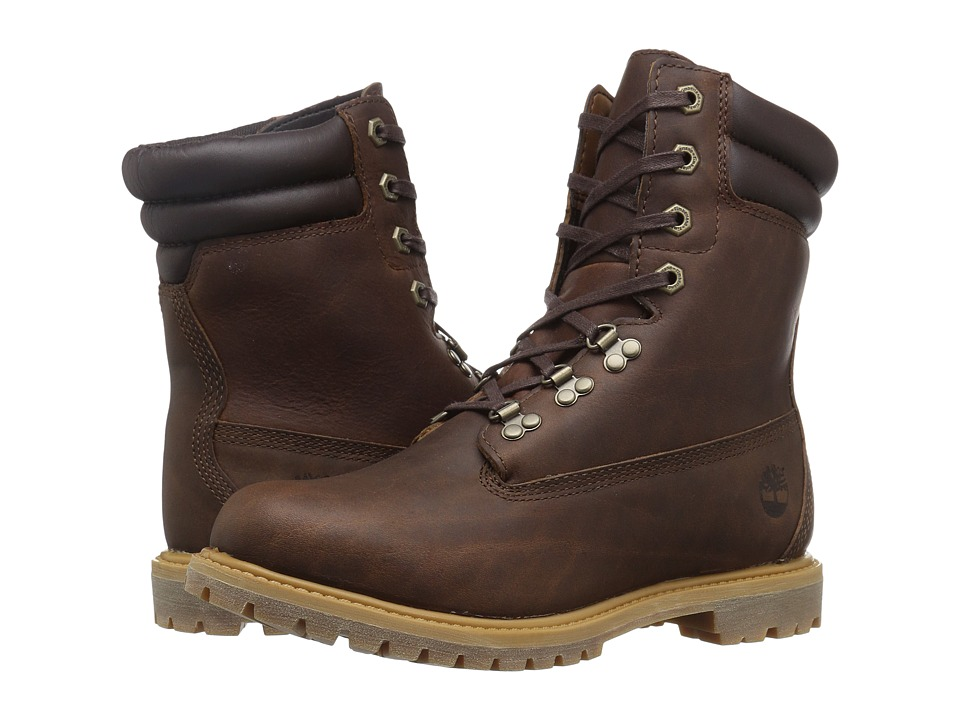 Timberland - 6 Premium Rugged Boot (Medium Brown Full Grain) Women's Lace-up Boots