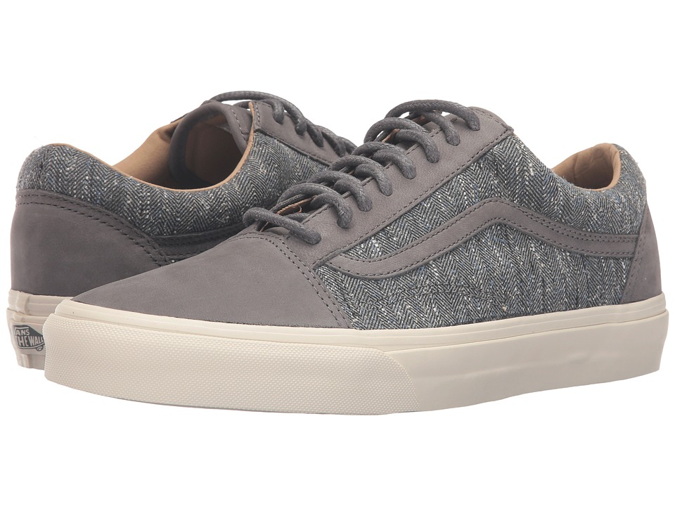 Vans - Old Skool Reissue DX ((Tweed) Gray) Men's Skate Shoes