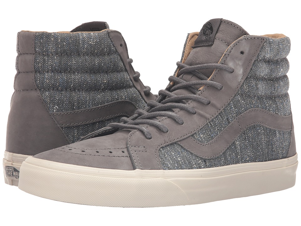 Vans - Sk8-Hi Reissue DX ((Tweed) Gray) Men's Skate Shoes