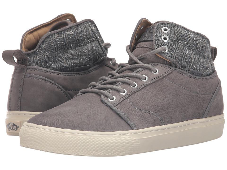 Vans - Alomar ((Tweed) Gray) Men's Skate Shoes