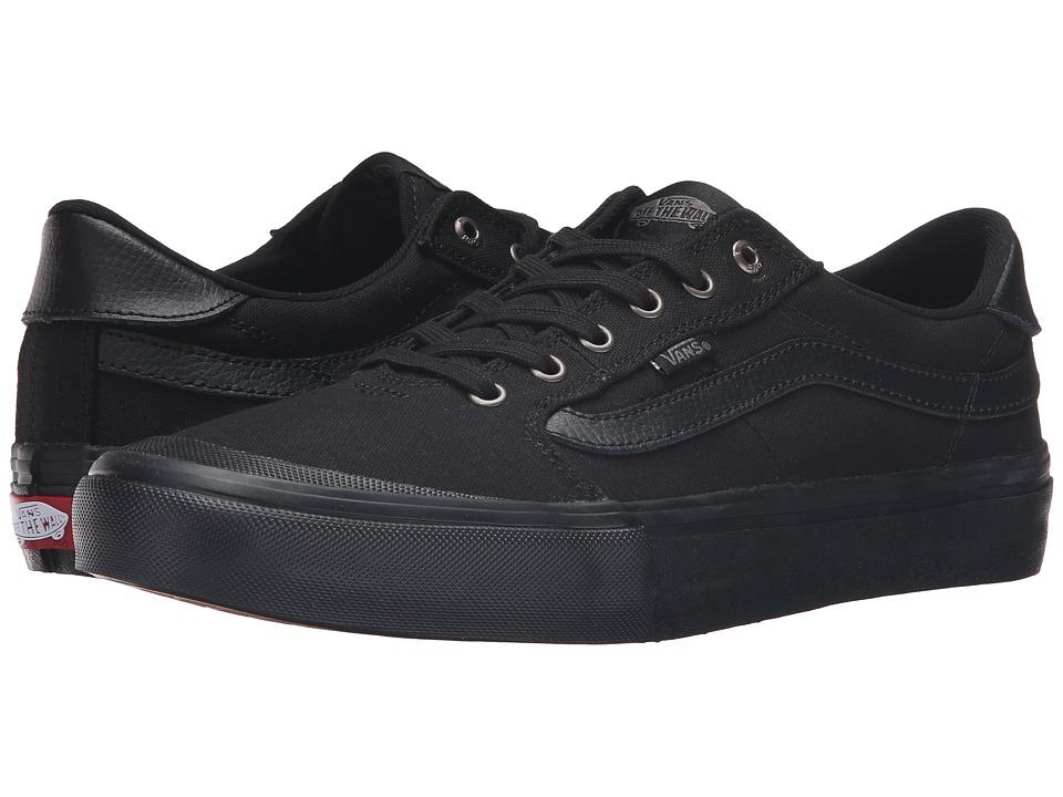 Vans - Style 112 Pro (Blackout) Men's Skate Shoes