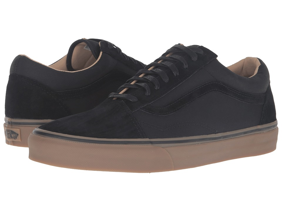 Vans - Old Skool Reissue DX ((Coated) Black/Medium Gum) Men's Skate Shoes