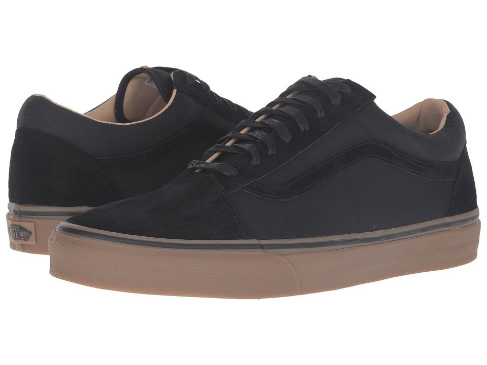 Vans - Old Skool Reissue DX ((Coated) Black/Medium Gum) Men's Skate Shoes