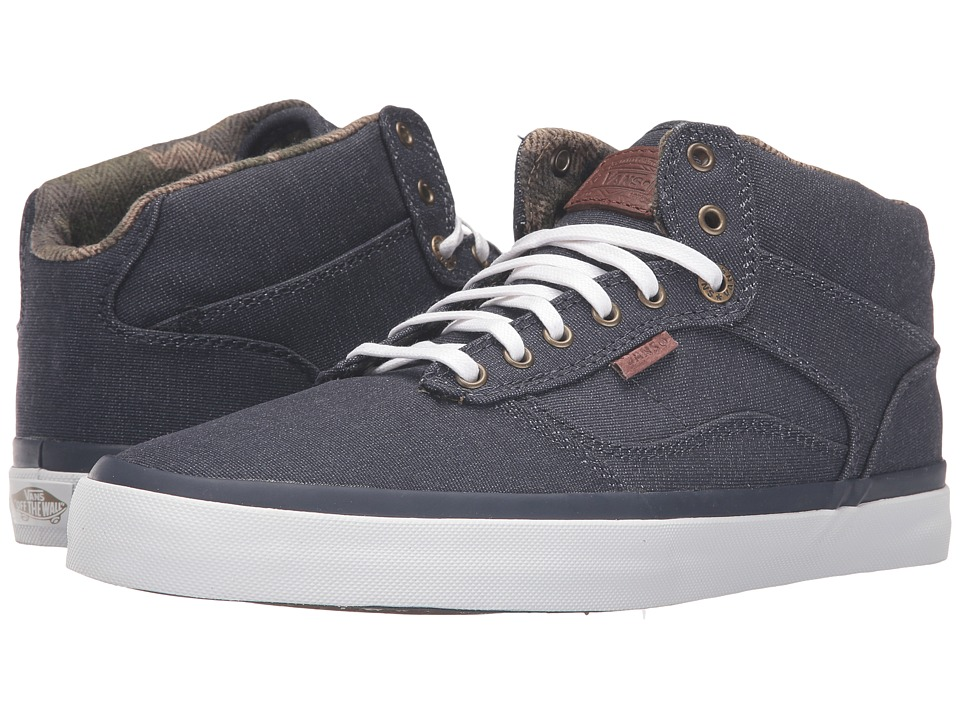 Vans - Bedford ((Suiting Clash) Parisian Night/White) Skate Shoes